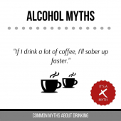 Drinking coffee will make you feel more awake, but the alcohol will still be in your system.  - - - #DrinkingMyths #StMaarten #DrinkingMythsDebunked #Myths #DrinkResponsibly #ILTTSXM #Wholesaler #Caribbean #islandLife #GreasyFoods #MythBuster #ResponsibleDrinking #InternationalLiquors #SXM #StMartin #OnlyOnSXM #DrinkKnowledge #Tropical #WarmWeather #SXMStrong #FAQ #DrinkFAQ