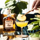 The proof is in the passion! [#Repost 📸@mountgayrumus]  The Passion Daiquiri 2 oz Black Barrel Mount Gay Rum  1 oz Fresh Squeezed Lime Juice 1 oz Passionfruit Syrup .5 oz Cointreau - - - #StMaarten #MountGayRum #MoreThanRum #RumLover #CocktailRecipes #DIYCocktails #MountGayBlackBarrel #AtHomeCocktails #Summer #MidWeek #HumpDay #StMartin #SXM #Wholesaler #RumWholesaler #Vibrant #Cointreau #TheArtOfMix #InstaGood #Caribbean #Island #Bartending #Mixology #MixDrinks