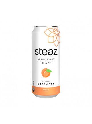 STEAZ PEACH ICE TEA CAN...