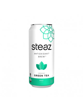 STEAZ MINT ICE TEA CAN 16OZ...