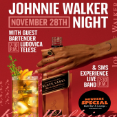 This Saturday is Walker night at 📍@nowherespecialsxm 🔥 Johnnie Walker mixed drinks with Guest Bartender @bullovica!  #KeepWalking  DrinkIQ.com - Please Drink Responsibly. 18+ - - - #JohnnieWalker #JohnnieWalkerBlackLabel #HighBallHour #JohnnieWalkerHighBall #JohnnieWalkerBlack #JohnnieWalkerCocktails #Specials #StMaarten #ThingsToDoInStMaarten #SXM #SXMStrong #IslandLife #Lifestyle #Nightlife #Whisky #BlendedScotchWhisky #CaribbeanNights #OfficialWholesaler #Wholesaler #ILTTSXM #InternationalLiquorsSXM #WhiskyCocktails #WhiskyDrinks #Cheers #NovemberEvents #NovemberToRemember