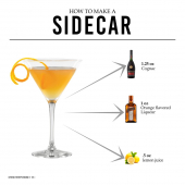 Very sophisticated and extremely balance cocktail - The Sidecar is considered an icon of cognac cocktails!  Shake 1¼ oz Cognac with ½ oz lemon juice and 1 oz Orange flavored liqueur with ice, then strain into glass.  Drink Responsibly. 18+ - - - #RemyMartin #RemyMartinVSOP #Cognac #CognacCocktails #StMaarten #InternationalLiquorsSXM #ILTTSXM #OfficialWholesaler #SXM #StMartin #ILoveSXM #SXMOfficial #LocalBusiness #CocktailRecipes #DIYCocktails #SidecarRecipe #sidecarCocktails #DrinkResponsibly