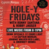 Holey-Fridays every Friday for the month of October & November At 📍@theholeinthewallsxm.  Live Music + Drink Specials!  *sponsored by @internationalliquorsxm  Drink Responsibly. 18+ - - - #StMaarten #Fridays #ThingsToDoInStMaarten #TheHoleInTheWall #Vibes #GoodVibesOnly #LiveMusic #Wholesaler #Distributor #ILTTSXM #InternationalLiquorsSXM #Caribbean #IslandTime #IslandLife #CaptainMorgan #SmirnoffVodka #CoorsLight #JohnnieWalker #Cocktails #MixDrinks #PartyLikeACaptain #LocalBusiness