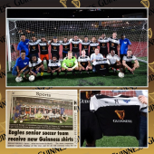 ILTT SXM representing Guinness are proud sponsors of the St.Maarten Eagles Soccer Team! Roel Kokkelmans - Commercial Manager, officially donated new uniforms for the upcoming soccer season!   Don't they look great in their new uniforms?   DrinkIQ.com - Please Drink Responsibly. 18+ - - - #Guinness #GuinessBeer #StMaarten #StMartin #ILTTSXM #InternationalLiquorsSXM #OfficialWholesaler #Beer #Soccer #Sponsorship #GoodDeeds #LocalBusiness #Caribbean #SXMStrong #SoccerFans #Sports #BeerWholesaler #Donation #GoodCause #Sportsmanship